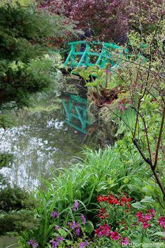 Wiosna w ogrodzie Moneta w Giverny / Le printemps chez Monet à Giverny - Bretonissime