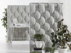 Pannello divisorio fonoassorbente LOOP by Abstracta | design Anya Sebton