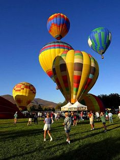 These balloons are quite the sight to see at the Temecula Valley Balloon and Wine Festival. Would you join for a ride? (Photo: Jon Sullivan)