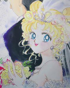 May everyone find true love ❤️❤️❤️#sailormoon #illustration #sailormoonfanart #美少女戦士セーラームーン #美少女戰士 #セーラームーン #naokotakeuchi #イラスト