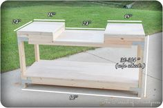 Woodworking Bench Mobile Miter Saw Stand Dimensions