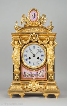 Antiques Atlas - Howell And James Mantel Clock                                                                                                                                                                                 More