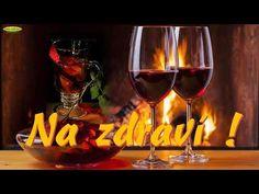 Blahopřání k svátku ( k jmeninám ) - YouTube Red Wine, Wine Glass, Alcoholic Drinks, Tableware, Youtube, Food, Google, Dinnerware, Tablewares