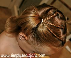 many fun and creative TODDLER HAIRSTYLES!!