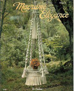 Macrame Elegance   Macrame Pattern Book GS1M by grammysyarngarden