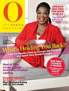 oprah magazine covers | The Oprah Magazine Cover, March 2013