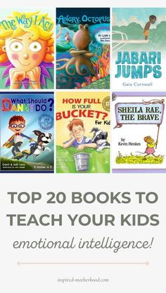 Must read books for preschool and toddler age children! Teach them social skills and social emotional skills with these 20 books recommended by a school psychologist. Best Children Books, Childrens Books, Gentle Parenting, Kids And Parenting, Reading Lists, Book Lists, Emotional Books, Social Skills For Kids, Affirmations For Kids