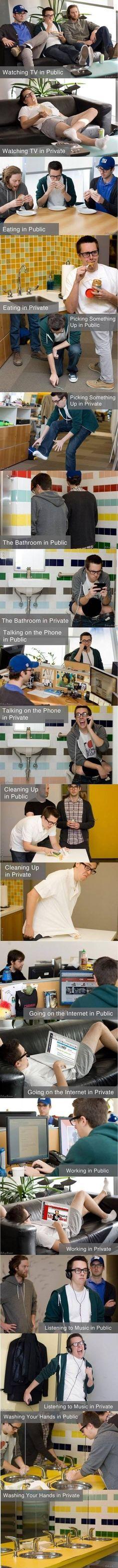 Private vs. Public.