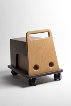 Vehicle for Children by Masahiro Minami, Japan.  Storage drawer in back.
