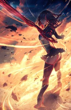 Kill la Kill by Grafik.deviantart.com on @deviantART