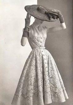 Balmain, 1953.                                                                                                                                                                                 More
