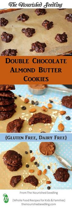 Dairy and gluten free, these decadent cookies boast healthy fats from coconut oil and almonds. Loaded with calcium and magnesium, plus a healthy dose of chocolate to feed the soul, these cookies have it all!