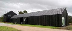 black barn style house