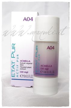 Review Etat Pur Attivi Puri A22 Acido Salicilico 300 e A04 Acmella | Manuki's Makeup and Creativity ☆