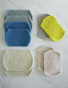 Knit Elbow Patches - The Purl Bee - Knitting Crochet Sewing Embroidery Crafts Patterns and Ideas!