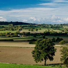 My home, Shropshire.