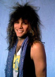 I cannot not pin Jon Bon Jovi Jon Bon Jovi, Bon Jovi 80s, Big Hair Bands, We Will Rock You, Star Wars, Teenage Years, Pretty Men, Most Beautiful Man, My Favorite Music