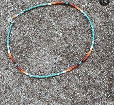Beaded Necklace Patterns, Beaded Choker Necklace, Seed Bead Necklace, Seed Bead Jewelry, Diy Necklace, Bracelet Patterns, Cute Jewelry, Beaded Jewelry, Beaded Bracelets