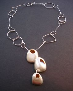 """piedras"" necklaces jewellery by Maria Solorzano: hand made. on sale"