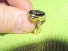 Vintage Retro AC Ladies 10k Yellow Gold WINTHROP COLLEGE B.S. Ring Size 4.75  #AC #VintageRetro #Ring