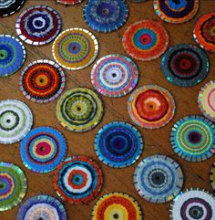 Spectacular CD Weaving