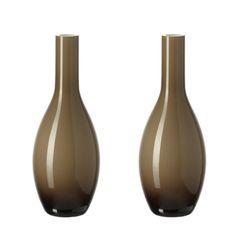Tafelvazen Beauty (2-delige set) - 18cm, beige