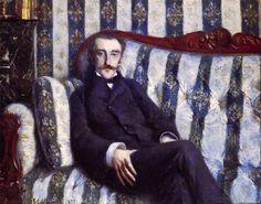 Gustave Caillebotte - Portrait de M. R.