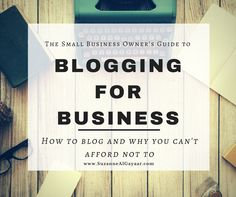 How do I start a blog for my small business? Including my TOP 5 Blogging Essentials and What to Avoid. In this post I explain how to start a blog in a few really easy steps and how it will grow your business!
