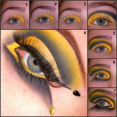 bumble bee halloween makeup - Google Search