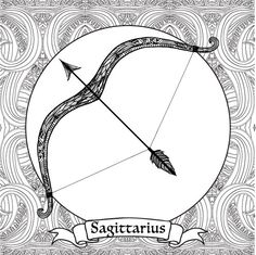 Adult Coloring Pages: Sagittarius --> If you're looking for the most popular coloring books and writing utensils including colored pencils, drawing markers, gel pens and watercolors, please visit http://ColoringToolkit.com. Color... Relax... Chill.