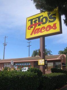 Tito's Tacos in Culver city - GO