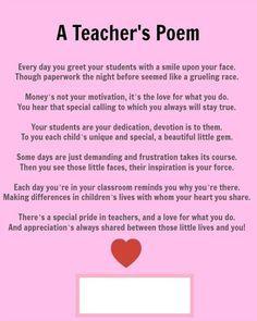 poem for teachers day celebration thank you poem for