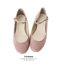 Sweet,more sweet 캔디팝♥ ❤ liked on Polyvore featuring shoes, flats, sapatos, flat heel shoes, flat pumps and flat shoes