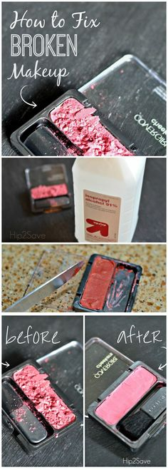 Don't throw away your broken make up. There's an easy and simple solution to help you. Our tutorial will show you how.