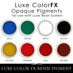 Epoxy Resin Pigment $8 for 1 ounce