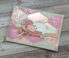 Wedding Anniversary Cards, Wedding Cards, Cool Cards, Diy Cards, Paper Quilt, Wink Of Stella, Stampin Up Catalog, Stamping Up Cards, Heart Cards