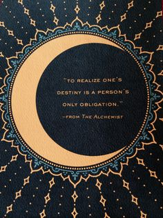 """To realise ones de"