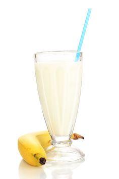 White Chocolate and Banana Protein Shake