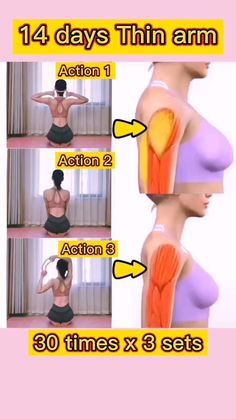 How to get thin arms in 14 days