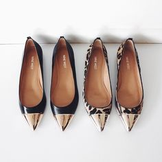 I just love a pointed toe shoe