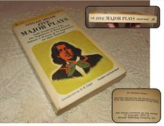 Vintage Paperback book Oscar Wilde Five Major Plays 1970