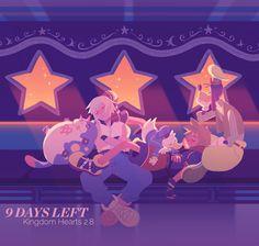 Riku, Sora, Donald, and Goofy
