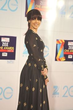 Genelia D'Souza at Zee Cine Awards 2013.