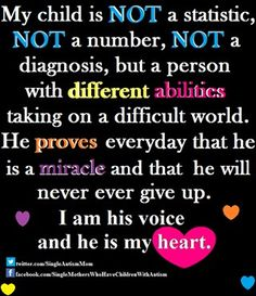 His voice, my heart. #autism  ❤Want to work from home? Go here NOW : http://www.workfromhometoday.pw
