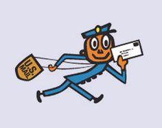The U.S.P.S. Mr. Zip logo, 1962