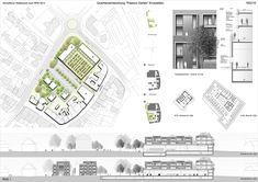 Nattler Architekten Lageplan, Schnitte, Fassadenschnitt, © Nattler Architekten