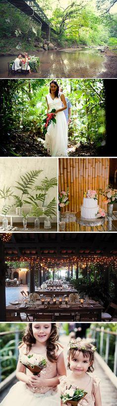 Exotic Destination Weddings in the Rainforest   The Destination Wedding Blog - Jet Fete by Bridal Bar