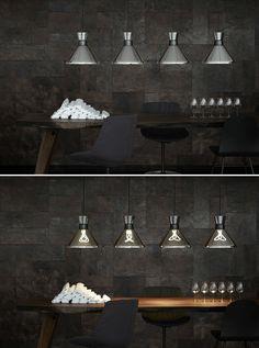 Stockholm Design Week 2013 // Pharaoh pendant light by Hulger for Lightyears /