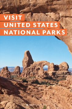 The United States has many varied landscapes. Visit a National Park or two this summer!