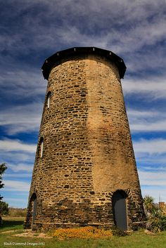John Geldmachers Wind Driven Flour Mill  (Built 1865-1872) - Nimmitabel, NSW